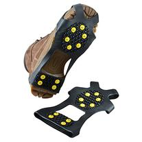 Flammi Stretch Over Shoe Studded Ice Grips Traction Cleats