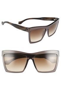 Women's Balenciaga Paris 60Mm Oversize Sunglasses
