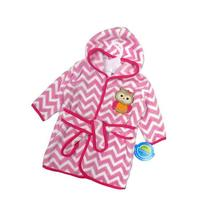 Neat Solutions Owl Fleece Bath Robe