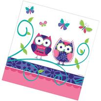 Creative Converting Owl Pal Plastic Banquet Table Cover,
