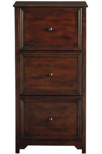 Oxford File Cabinet, 3-DRAWER, CHESTNUT