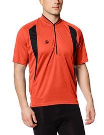Canari Cyclewear Men's Oxford Jersey, Lava, XX-Large
