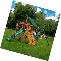 Gorilla Playsets Ozark Cedar Wooden Swing Set