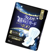 P&G Japan Whisper Sanitary Soft&Dry 400 Napkins with Wings
