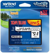 BRTTZ2312PK - Brother TZe Standard Adhesive Laminated Labeling Tapes