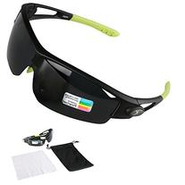 Poshei P05 Polarized Sports Sunglasses with Unbreakable
