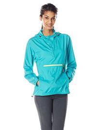 White Sierra Women's Packable Anorak Jacket, Vivid Green,