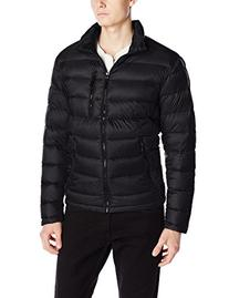 Kenneth Cole New York Men's Packable Down Jacket, Black,