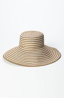 Women's Eric Javits 'GG Dame II' Packable Sun Hat - Beige
