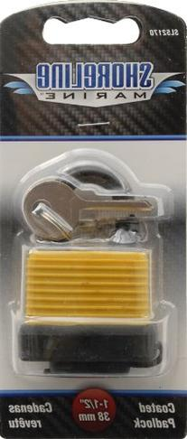Shoreline Marine Padlock Covered with Cap
