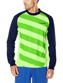 Vizari Padova Goalkeeper Jersey, Green/Navy, Adult Small