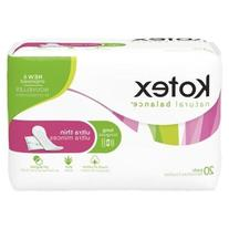 Kotex Pads Long Unscented, 20 CT
