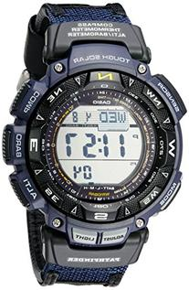 "Casio Men's PAG240B-2CR ""Pathfinder"" Sport Watch with Black"