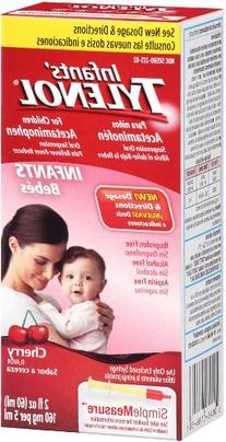 Infants Tylenol Pain Reliever-Fever Reducer, Oral Suspension