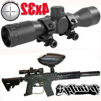 Trinity Paintball 4x32 Compact Scope for Us Army Alpha Black