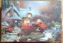 Thomas Kinkade Painter of Light Evening at Swanbrooke