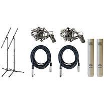 Pair MXL 603S Condenser / Overhead Microphones w/2 FREE XLR