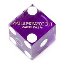 Pair  of Official 19mm Casino Dice Used at The Cosmopolitan