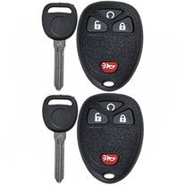 Discount Keyless Pair of Replacement 4 Button Automotive