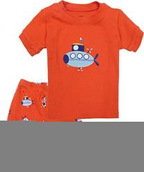 """Babyroom """"Spacecraft"""" Boys pajamas cotton short toddler kids"""