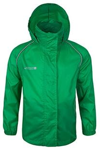 Mountain Warehouse Kids Lightweight Waterproof Rain Jacket