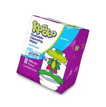 Flushable Wet Wipes for Kids by Kandoo, Hypoallergenic Potty