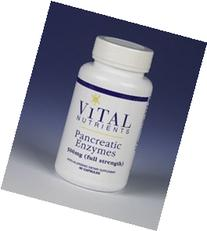 Vital Nutrients Pancreatic Enzymes 500mg 90 Capsules