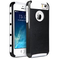 ULAK Hybrid Heavy Duty Case for Apple iPhone 5 / iPhone 5S 2