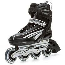 5th Element Panther XT Mens Inline Skates Black-Gray 11.0