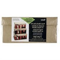 Paper-Mache Rectangle Box Set Of 3-8, 9 & 10