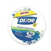 "Dixie 8.5"" Paper Plates, 160ct"
