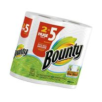 Bounty Paper Towels 2 Huge Rolls