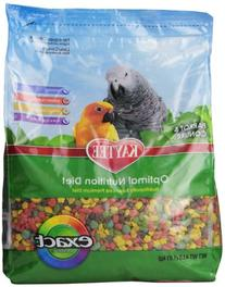 Central Avian & Kaytee Parrot Conure Exact Rainbow 4 Pounds