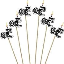 The Party Continuous 50th Birthday Party Molded Candle on a