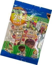 Party Favor Play Pack -Disney Junior - 24 Mini Packs