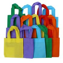 Party Favor Tote Gift Bags with Handles - Polyester Non-