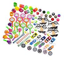 Party Favor Toy Prizes Assortment Of 101 Fun toys Items.