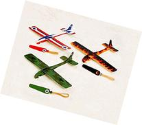 Amscan Party Perfect Assorted Airplane Glider Favors, 8 1/4