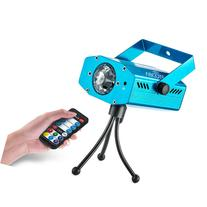 Party Projector Stage Light - 7 Color Ocean Wave Strobe