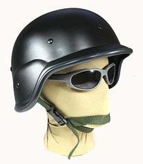PASGT M88 Black Swat Police Airsoft Paintball Helmet Kevlar
