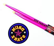 "Pocket Stix 13"" Passion Pink Drumsticks and 4"" Pocket Padz"