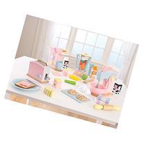 KidKraft 4 Pack Pastel Play Kitchen Accessories