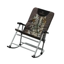 Patio Rocker Extra Large Rocking Quad Chair Padded Outdoor