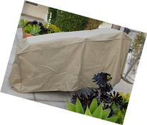 "Patio stacking chaise cover 84""L x 30""W x 40""H back/36"""