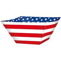 Amscan Patriotic 4th of July Stripes & Stars Disposable