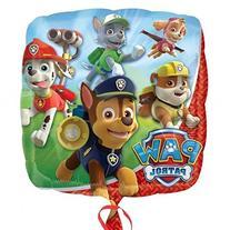 Paw Patrol Happy 4th Birthday Balloon Set