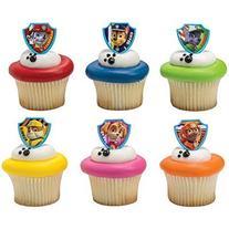 PAW Patrol Ruff Ruff Rescue Cupcake Rings - 24 pcs by
