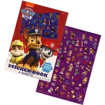PAW Patrol Sticker book, 4 sheets - over 300 stickers