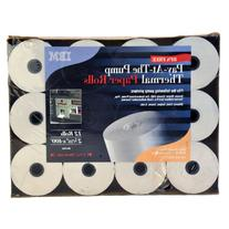 Pay-At-The Pump Thermal Paper Rolls - 12 ct