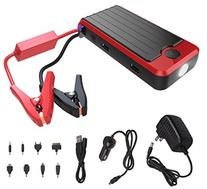 PowerAll PBJS12000R Rosso Red/Black Portable Power Bank and